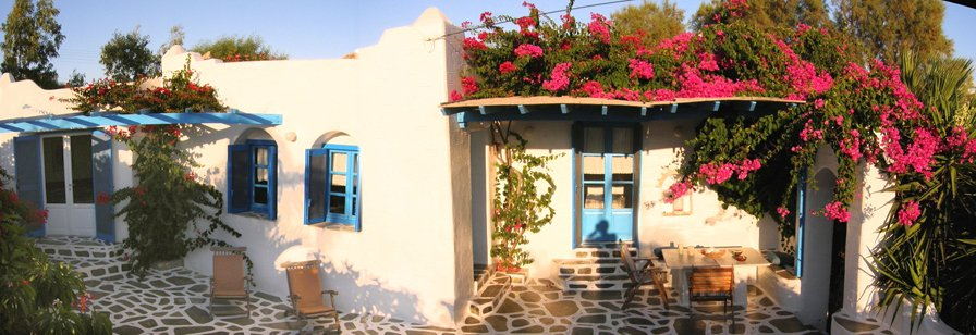 Seaside Villas, Paros Greece