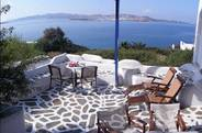 Sweeping views of the Aegean Sea...